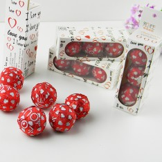 搞怪礼品套套巧克力爱心型三支装 安全套 避孕套
