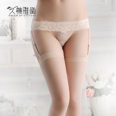久慕雅黛 性感撩人雕花蕾丝诱惑吊带袜 NJW0037(限价38)
