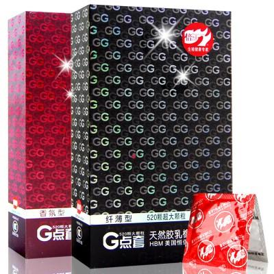 倍力乐G点套避孕套安全套成人性用品