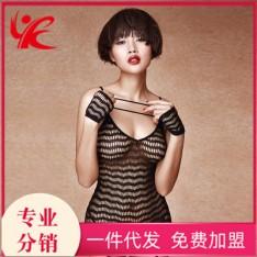 史黛丝情趣内衣11157 露臀束身性感连体网衣