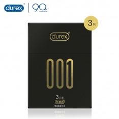 杜蕾斯001聚氨酯避孕套安全套夫妻用品