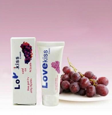 LOVE kiss 葡萄味 人体润滑剂水溶性25ML 润滑油 口交润滑剂